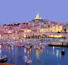 Fransa'nın en eski şehri marsilya paris'ten sonra ülkenin